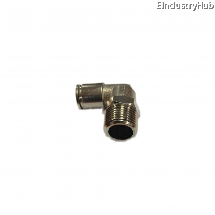 BPL 10mm x 1/4 Elbow Pneumatic Air Push In One Touch Quick Fitting (10pcs)