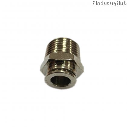 BPC 10mm x 1/2 Straight Pneumatic Air Push In One Touch Quick Fitting (10pcs)
