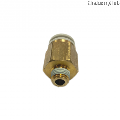 """KQ2H 10mm x 1/8"""" Male Stud Pneumatic Air Push In One Touch Quick Fitting (10pcs)"""