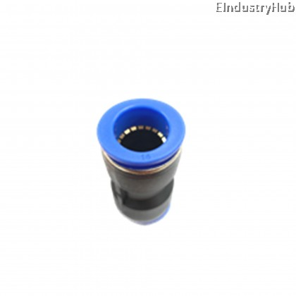PU16 16mm Straight Union Pneumatic Air Push In Quick Fitting (10pcs)
