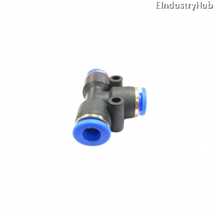 PE06 6mm Union Tee Pneumatic Air Push In Quick Fitting (10pcs)